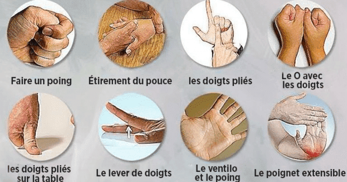 8exercices pour soulager les douleurs liees a larthrite au niveau des mains 1