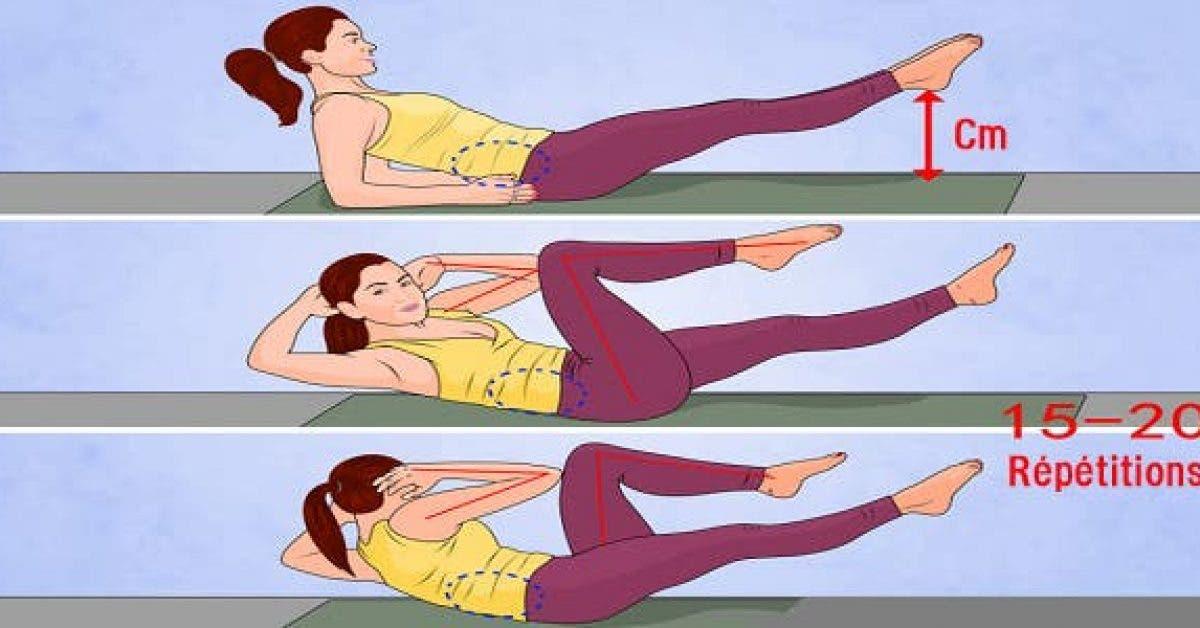 9 exercices pour bruler la graisse du ventre en moins dun mois 1