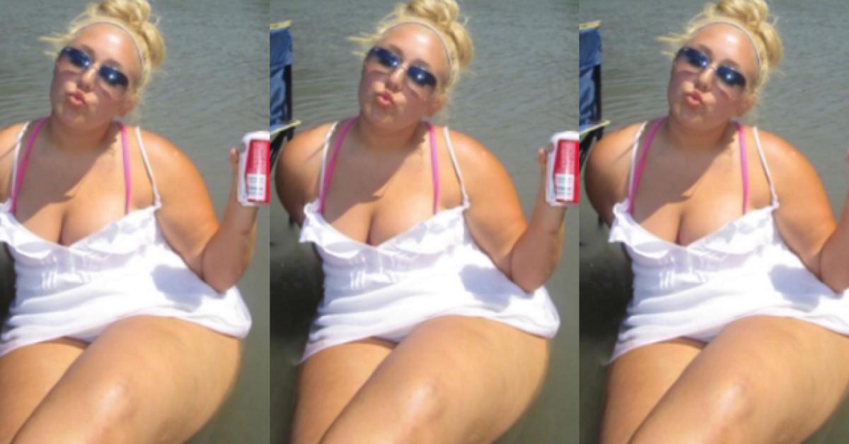Accro à la nourriture, elle perd 38 kilos par amour