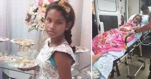 """""""Adieu petit ange » Une fille meurt en donnant naissance au bébé de son père"""