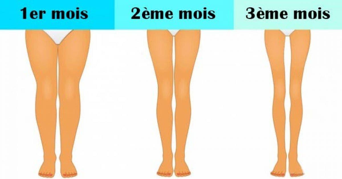 Affinez vos jambes