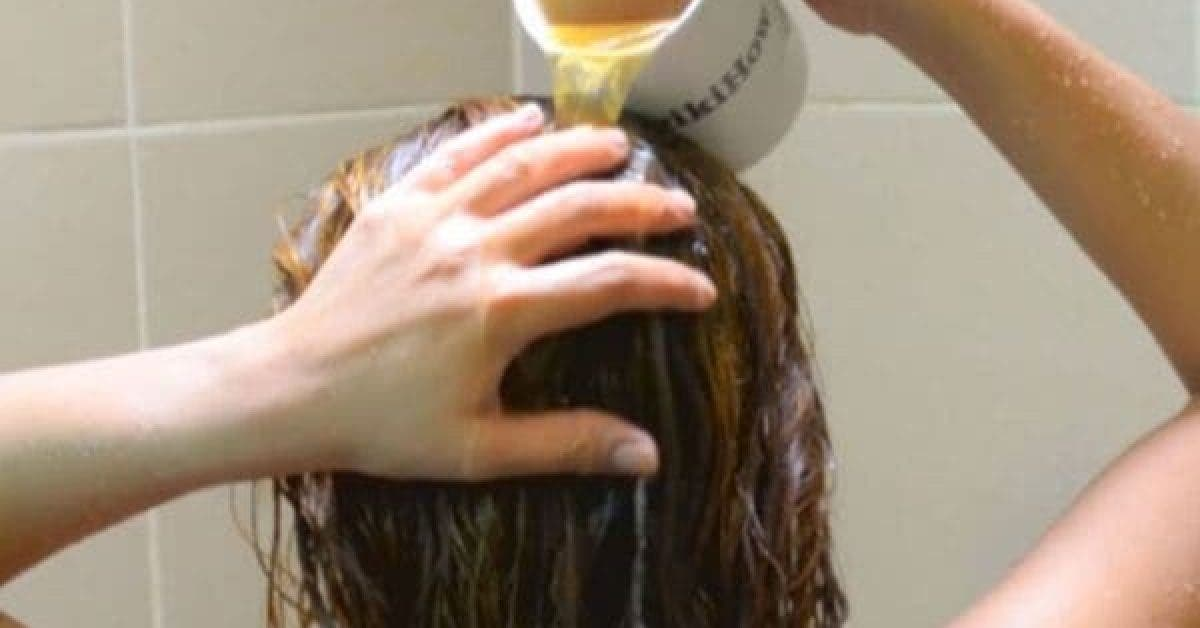 Rincez vos cheveux avec ces ingrédients et débarrassez-vous des cheveux gras et des pellicules
