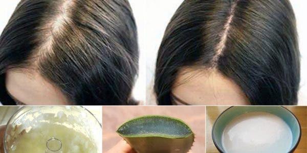 Appliquez ce traitement naturel sur vos cheveux et ils ne cesseront plus de pousser !