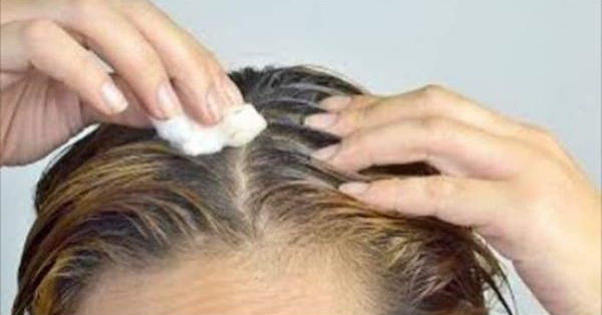 Appliquez ceci sur vos cheveux pour en finir avec les cheveux blancs