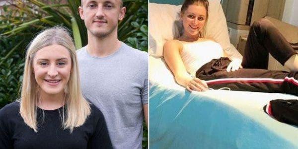les médecins l'informent qu'elle n'a pas bébé dans le ventre mais un cancer