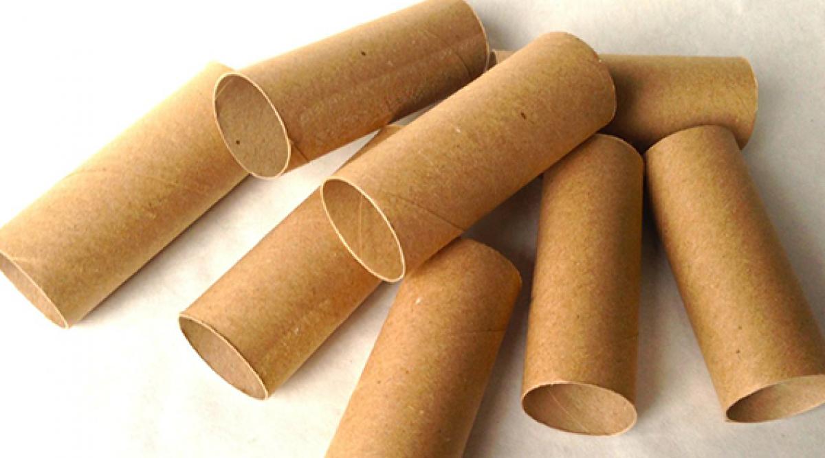 Arrêtez de jeter les rouleaux de papier toilette usés
