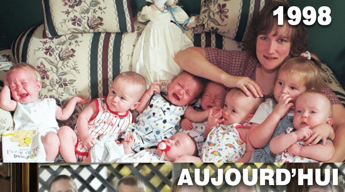 Cette maman a donné naissance aux premiers septuplés survivants au monde