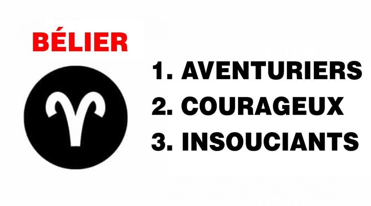 les trois mots qui décrivent le mieux votre signe du zodiaque