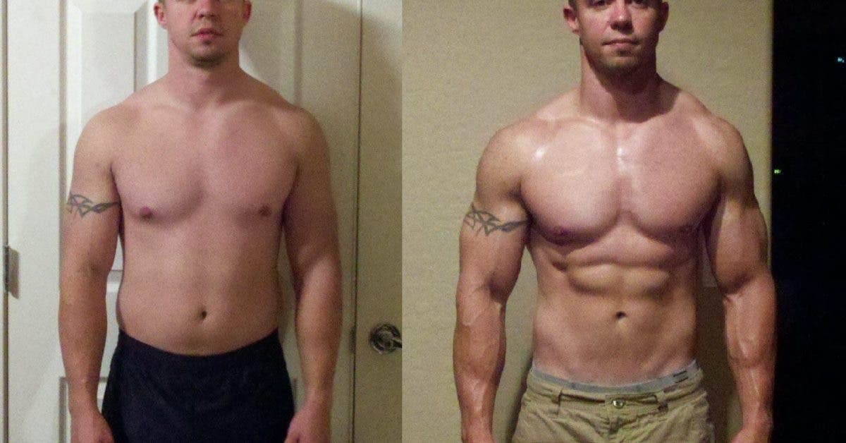 Before n after creatine 2 1