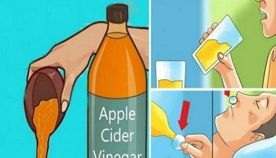 Boire du vinaigre de cidre avant de vous mettre au lit va changer votre vie pour de bon