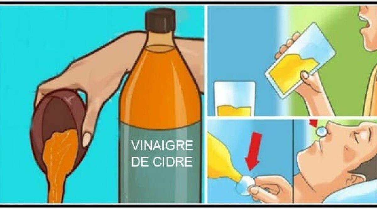 Boire du vinaigre de cidre avant le coucher changera votre vie pour de bon