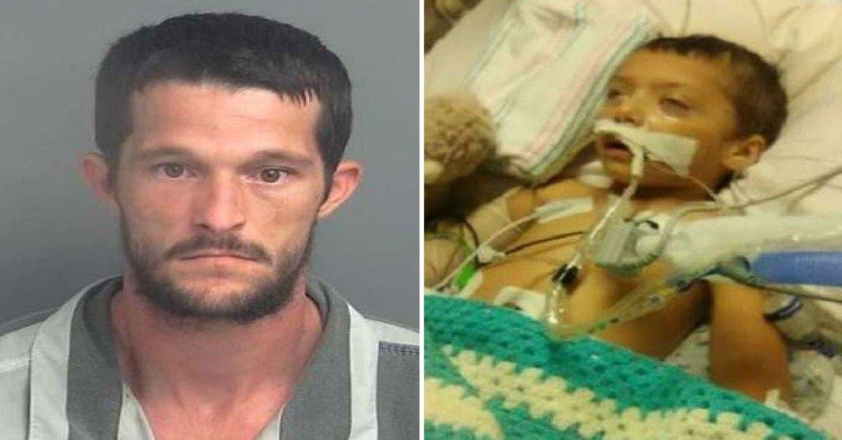 Ce bébé de 2 ans a été battu par le petit ami de sa mère et laissé dans un état végétatif
