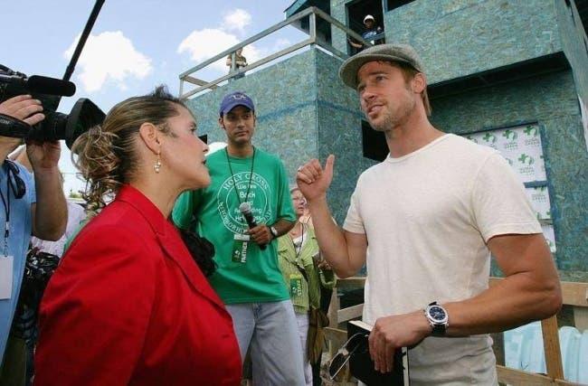 Brad Pitt a construit plus de 100 maisons pour des personnes dans le besoin