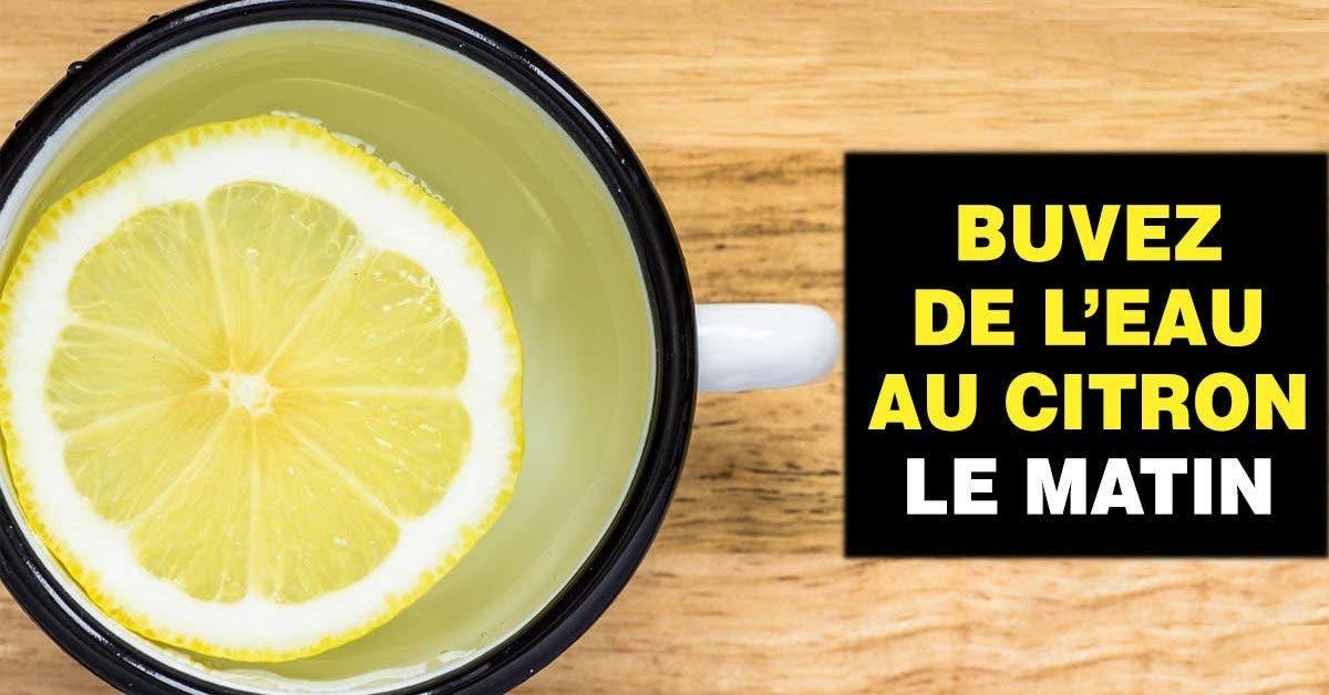bienfaits de l'eau tiède au citron le matin que vous ne connaissez pas