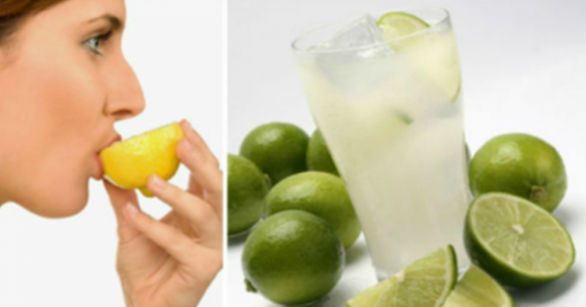 Buvez de l'eau citronnée tous les jours