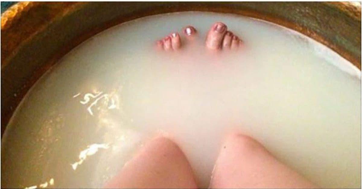 Ce bain élimine les toxines du corps
