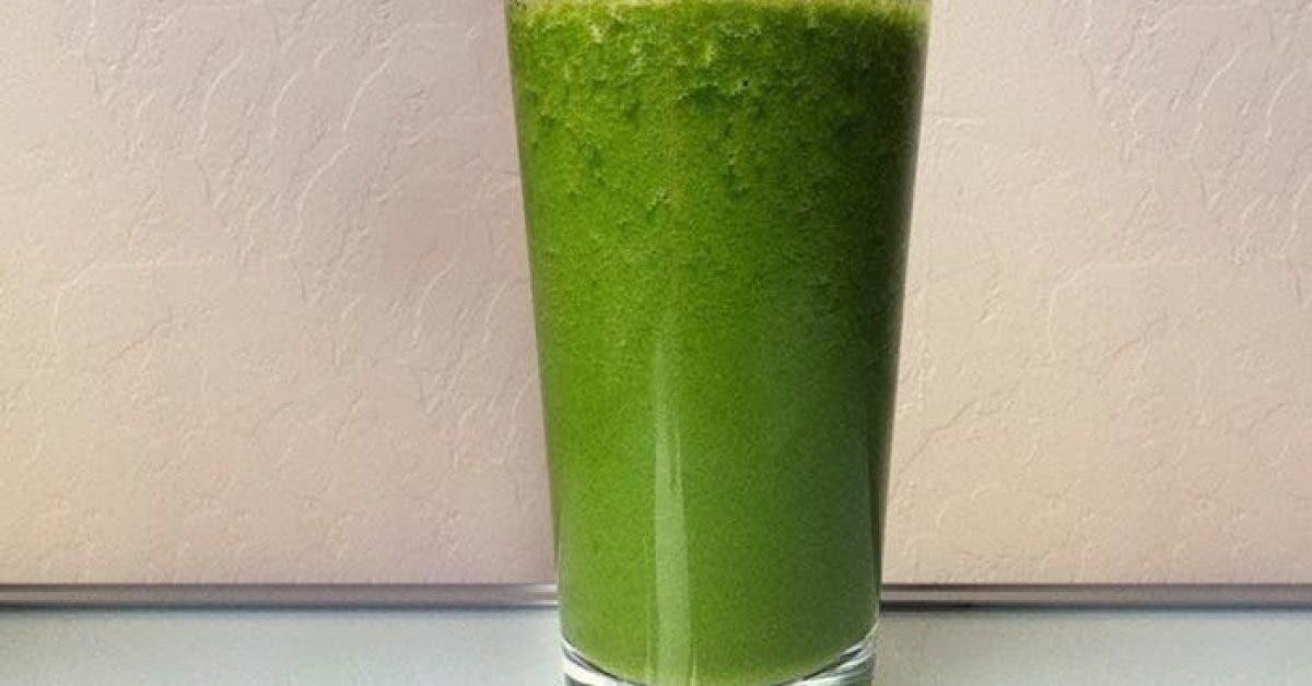 Ce délicieux jus vert nettoie votre colon en 7 jours
