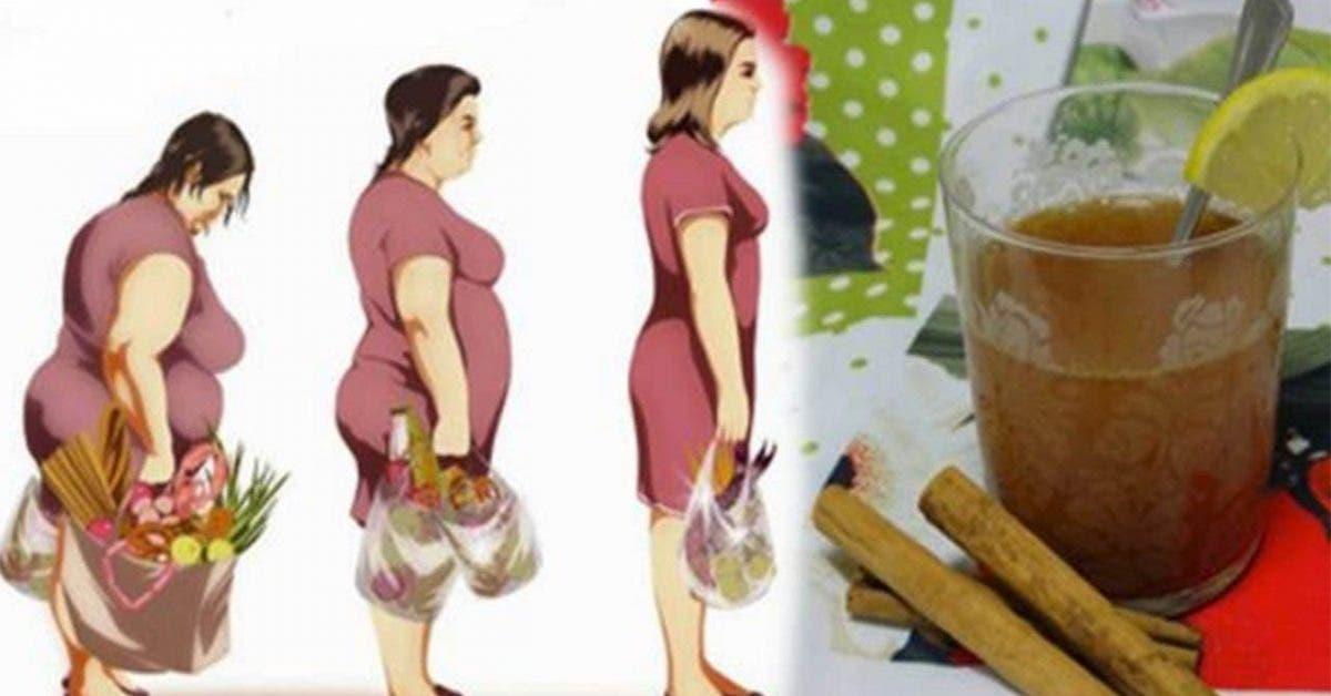 Ce délicieux thé au citron, miel et cannelle peut vous aider à perdre 3 kg en une semaine