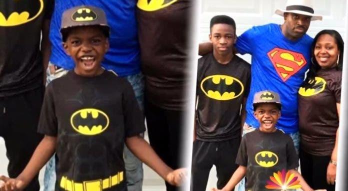 Ce garçon de 8 ans célèbre sa victoire contre le cancer du cerveau au stade 4