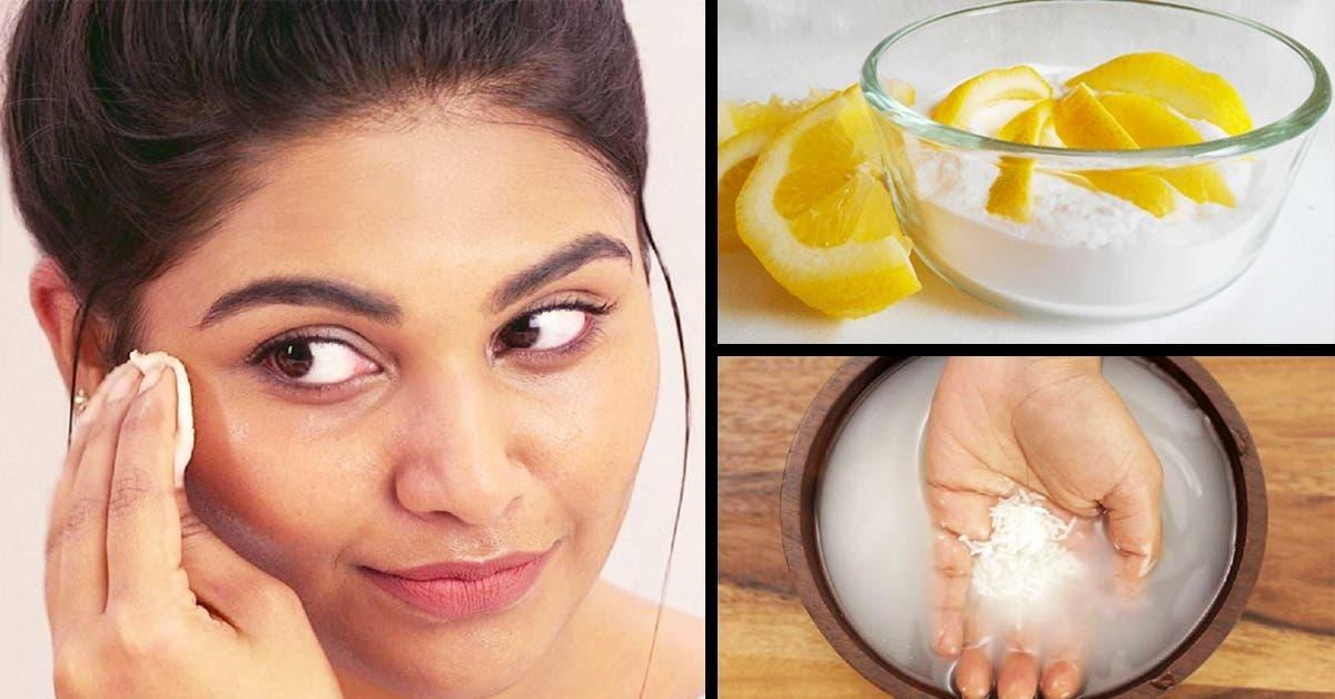 masque éclaircissant pour le visage au citron est utilisé par les japonaises