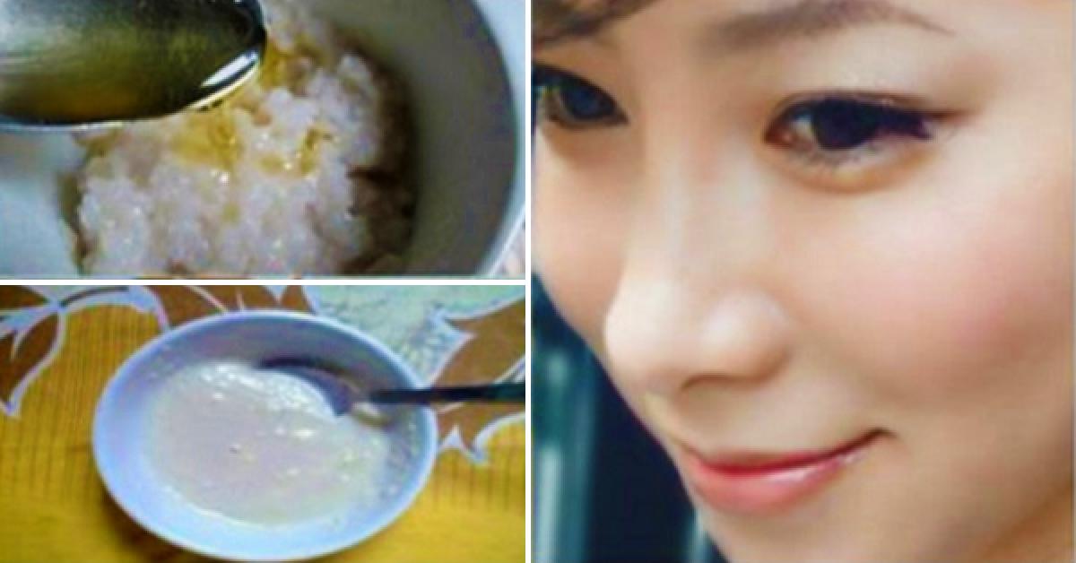 Ce masque japonais efface les années sur votre visage et rend votre peau belle