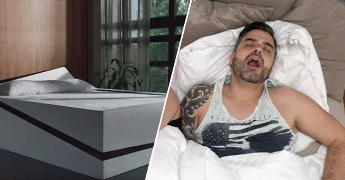 Ce nouveau lit empêche votre moitié d'envahir votre coté