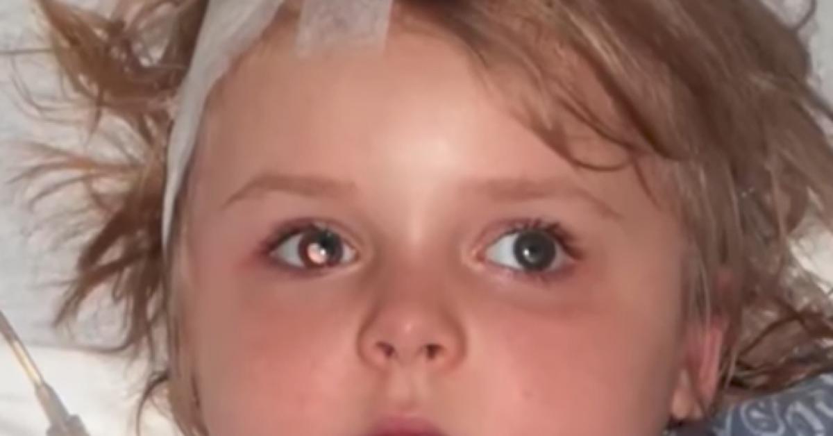 Ce papa dit à sa fille qu'elle va devenir aveugle