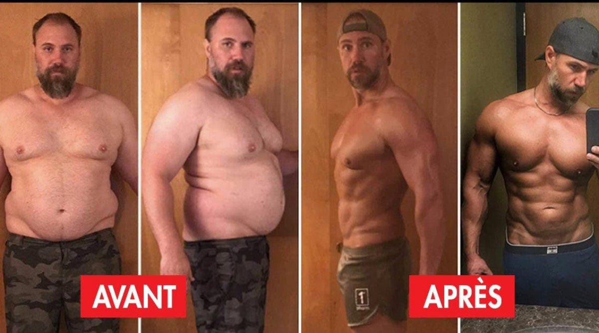 Ce père de famille perd 40 kilos en moins de 6 mois grâce au régime cétogène