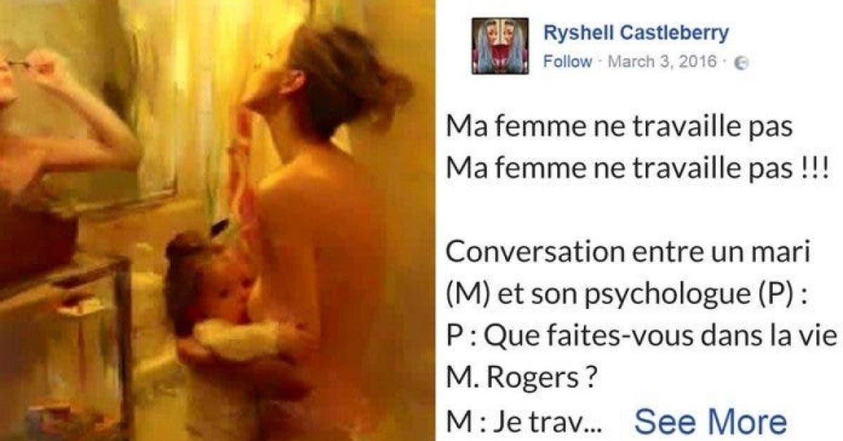 Ce post incroyable d'une mère au foyer à été partagé sur Facebook 1 million de fois. L'avez vous lu ?