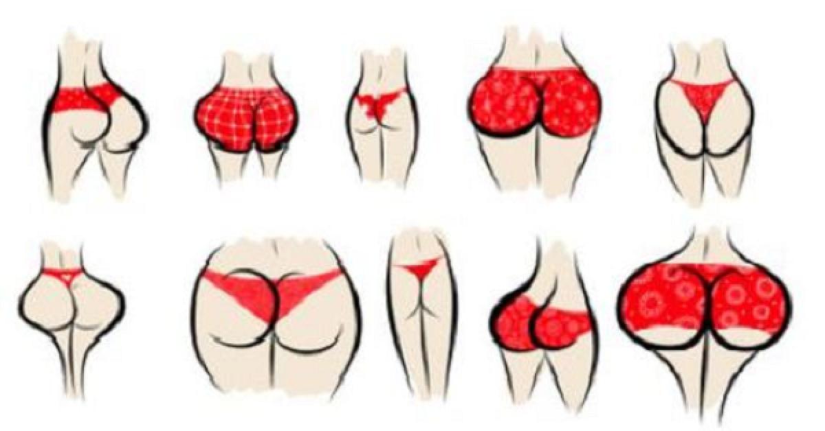 Ce que la forme de vos fesses dit sur vous Vous allez etre tres surpris 1