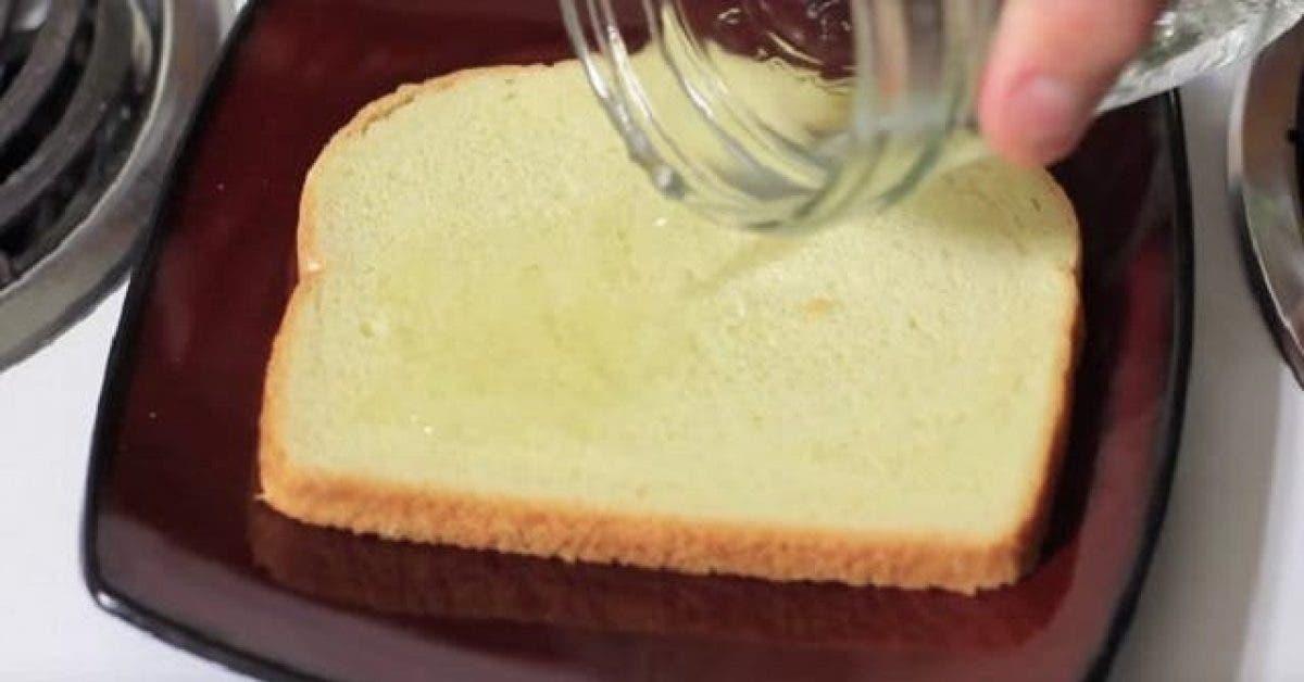 Ce qui arrive quand il verse du vinaigre sur un toast tout le monde devrait connaitre ceci 1