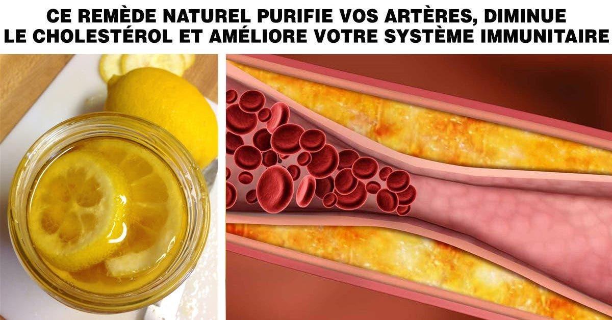 emède allemand au citron qui purifie vos artères