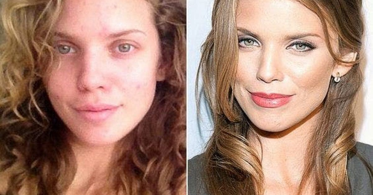 Ces 15 célébrités sans maquillage prouvent qu'elles ressemblent à des gens ordinaires