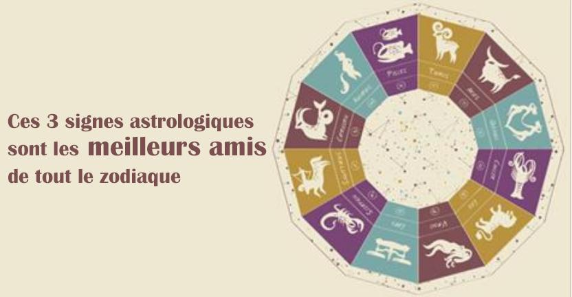 ces 3 signes astrologiques sont les meilleurs amis de tout le zodiaque. Black Bedroom Furniture Sets. Home Design Ideas