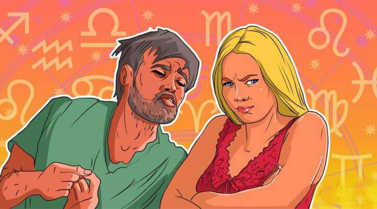 signes féminins du zodiaque attirent les mauvais hommes