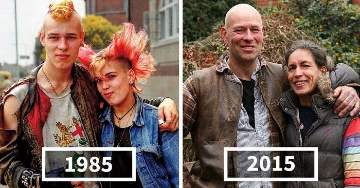 Ces personnes sont prises en photo à 30 ans d'intervalle ! Découvrez le résultat impressionnant !