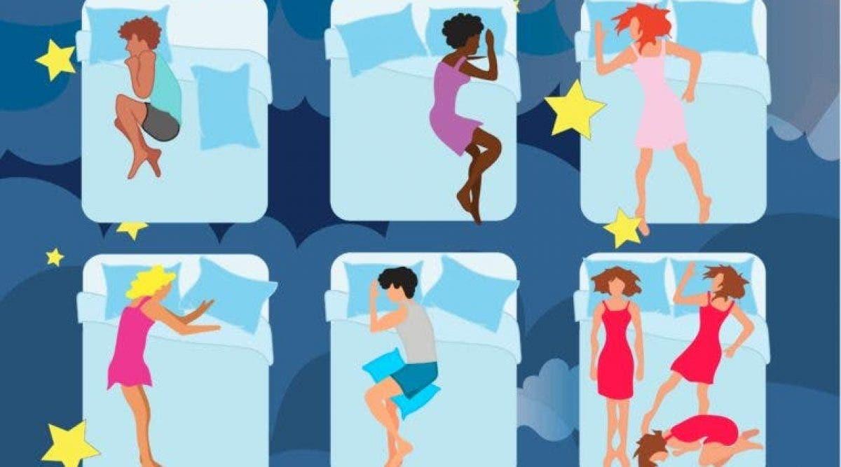 Ces six positions de sommeil révèlent votre personnalité et affectent votre santé