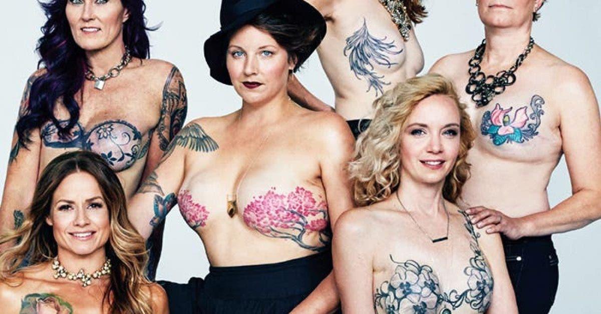 Ces survivantes du cancer du sein vous montrent les tatouages qui les ont aidees a se reconstruire 1