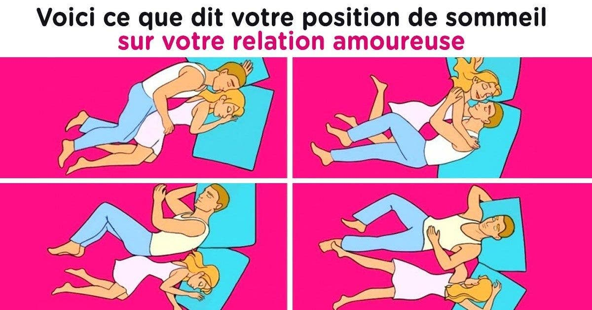 Cest ce que dit votre position de sommeil sur votre relation amoureuse