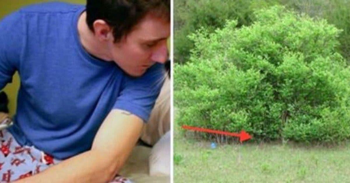 Cet homme fume sa dernière cigarette avant de se suicider – puis un invité surprise sort du buisson