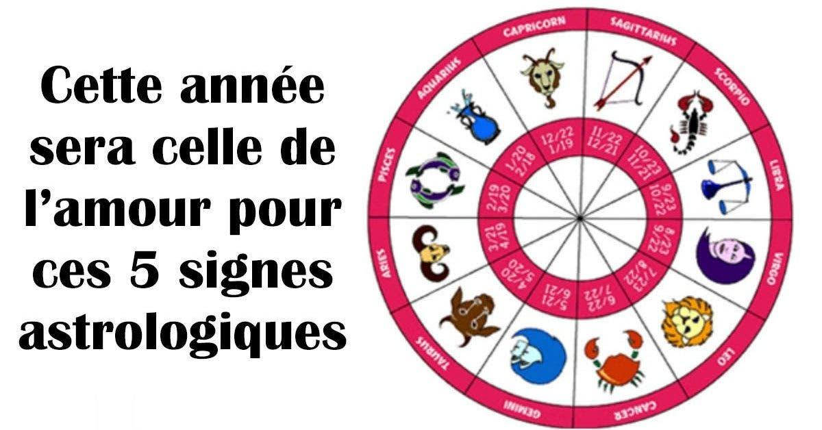 Cette année sera celle de l'amour pour ces 5 signes astrologiques