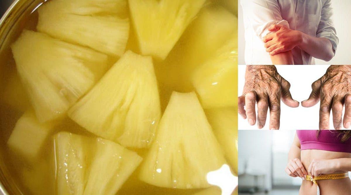 boisson à l'ananas vous aidera à détoxifier votre corps