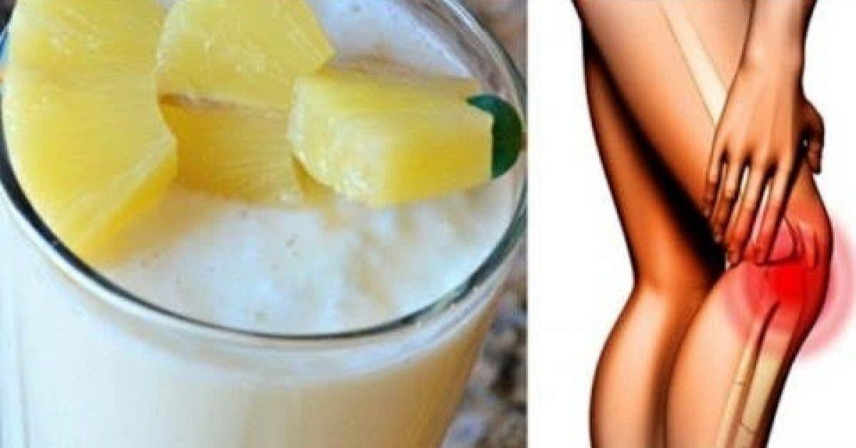 Cette boisson m'a permis de soulager mes douleurs articulaires et les douleurs des genoux en 5 jours seulement