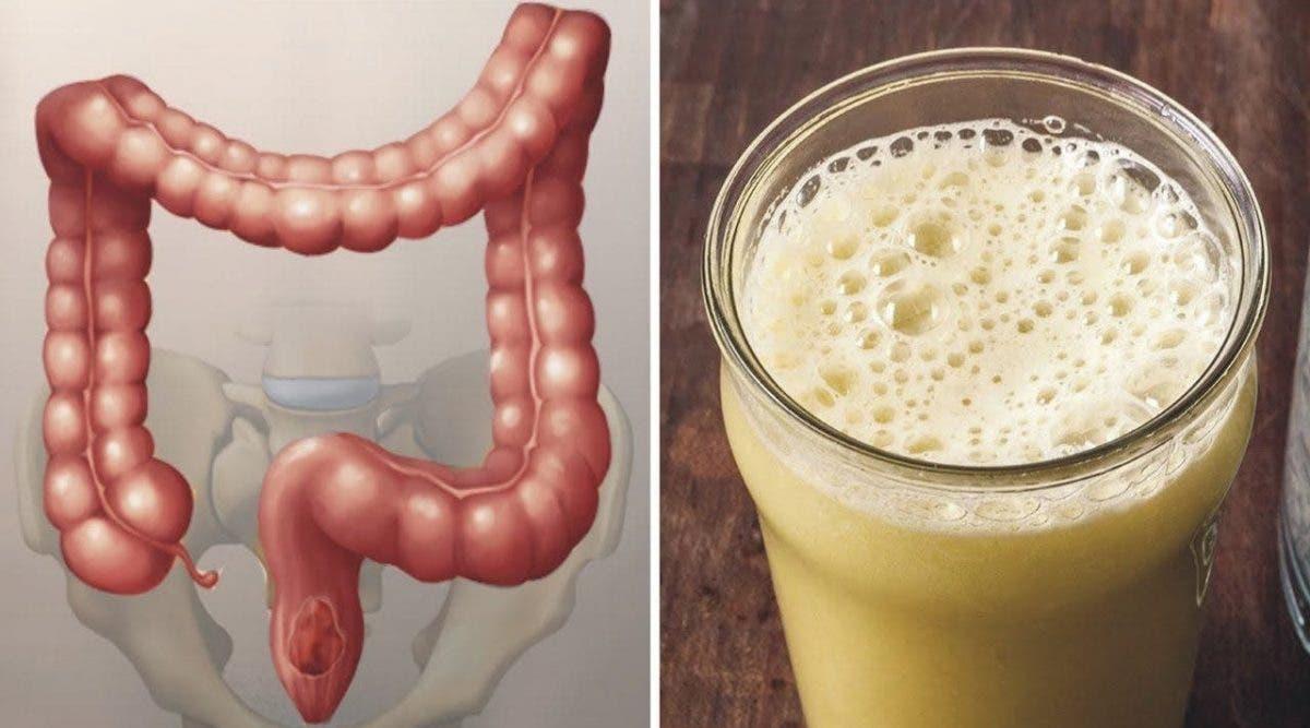 Cette boisson nettoie entièrement votre colon et vous débarrasse des ballonnements