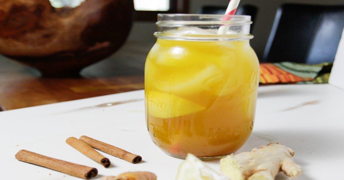 Cette délicieuse boisson à boire le matin dégonfle le ventre en quelques jours