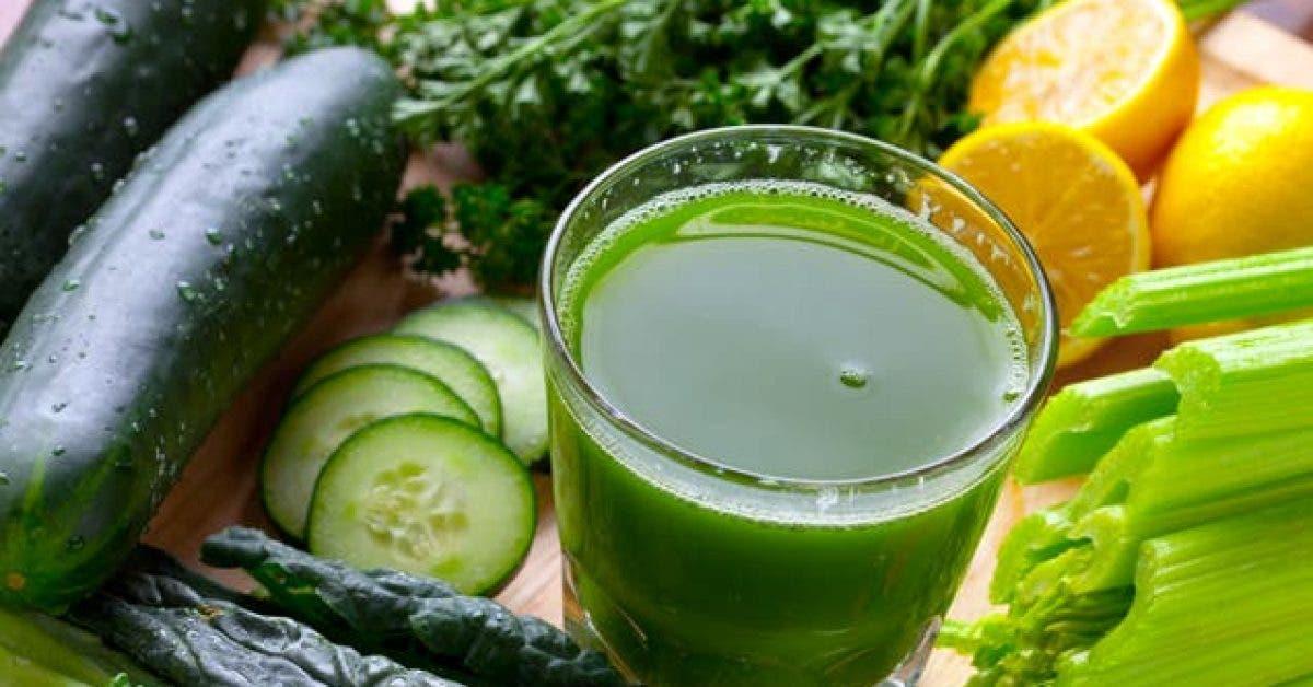 délicieuse boisson verte augmente le métabolisme