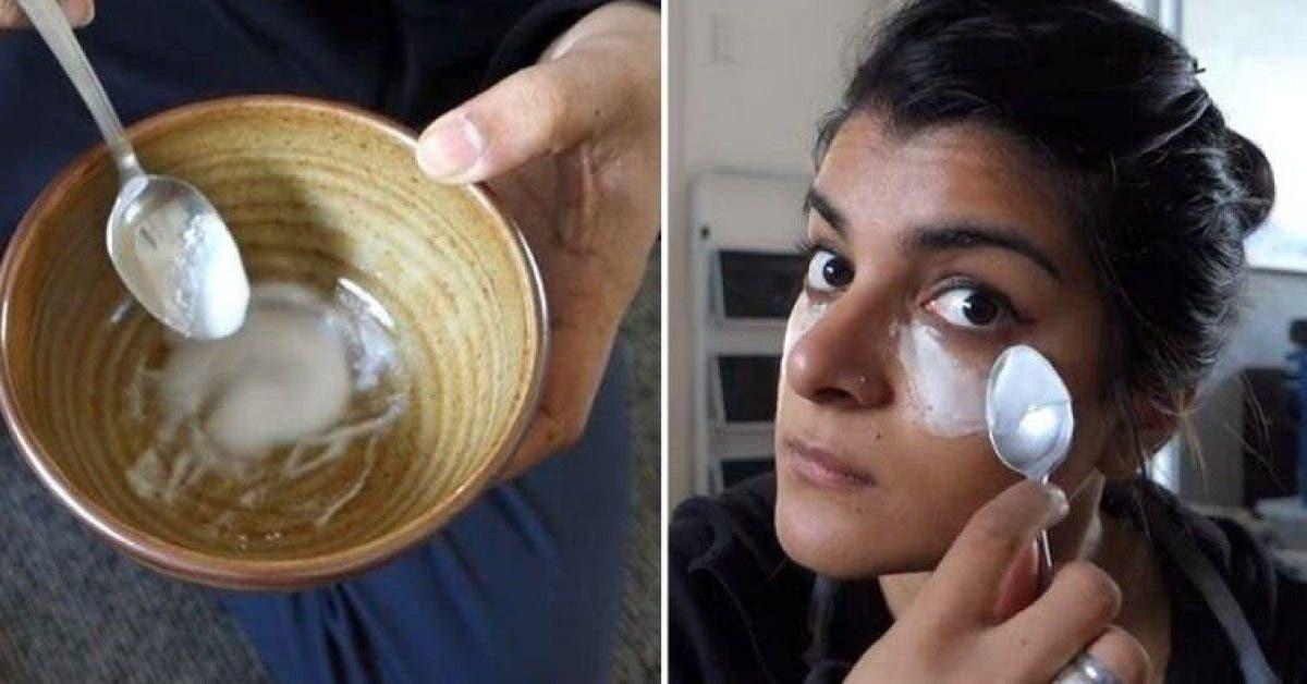 Cette femme a applique du bicarbonate de soude sur son visage quelque chose dincroyable sest passe 1