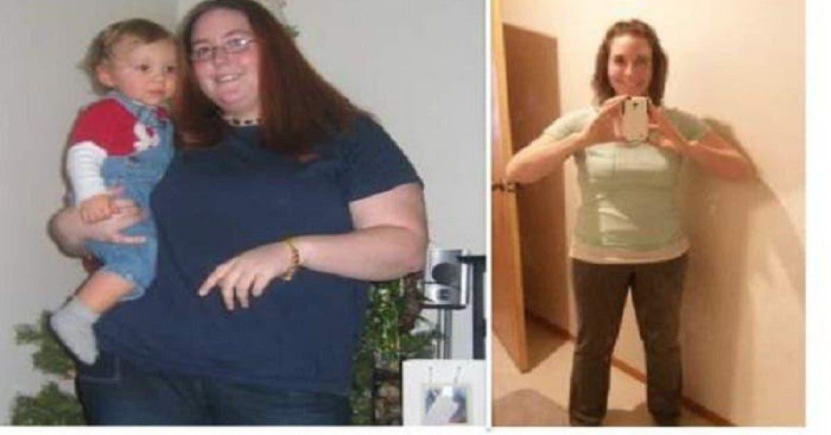 Cette femme a perdu 45 kilos elle revele son secret pour perdre du poids 1