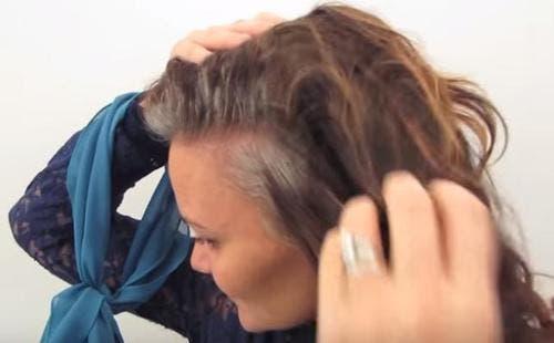 femme en avait marre des colorations pour cheveux
