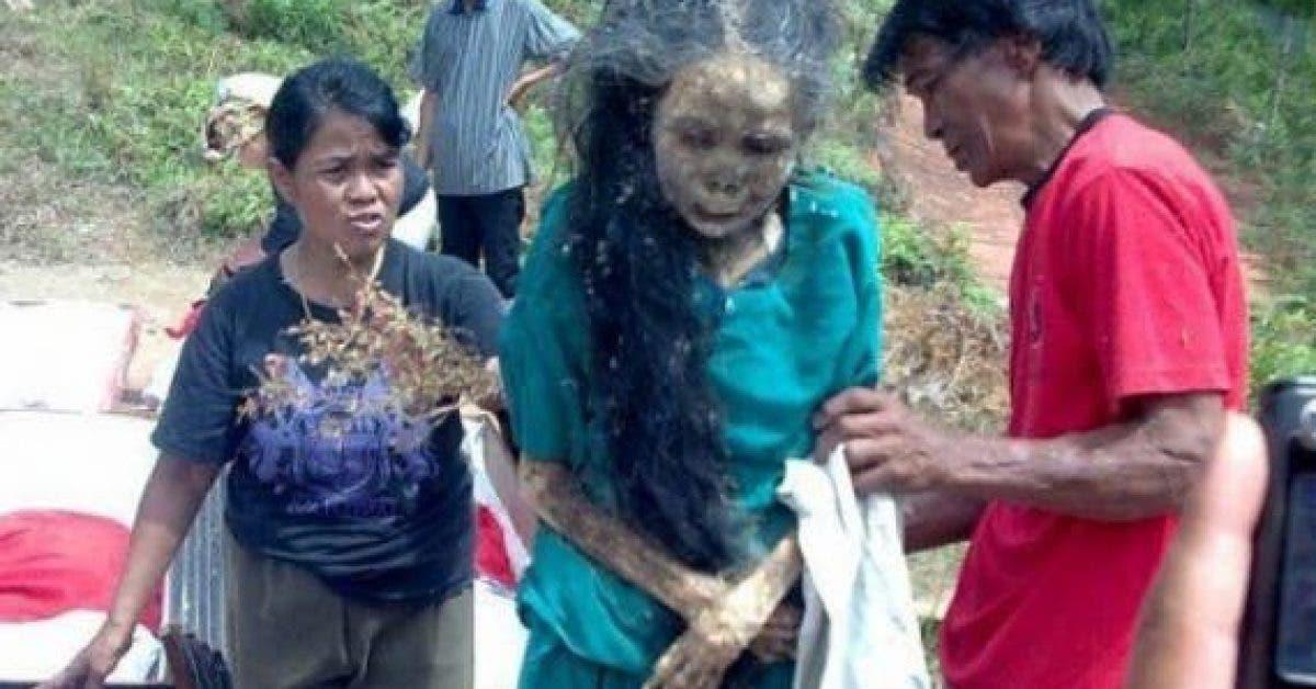 Cette femme est « sortie » de sa tombe et sa famille la fait marcher 3 ans après sa mort
